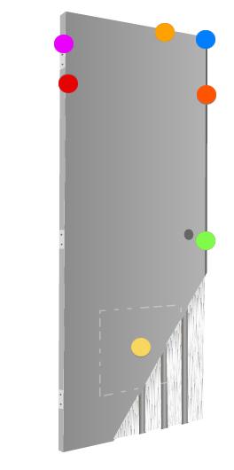 DCI Hollow Metal on Demand | Stainless Steel Doors | Steel Stiffened Core Doors